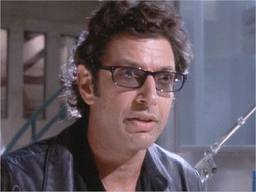 Jeff Goldblum as Ian Malcolm