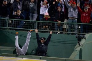 ALCS Game 2: Detroit Tigers Vs. Boston Red Sox At Fenway Park