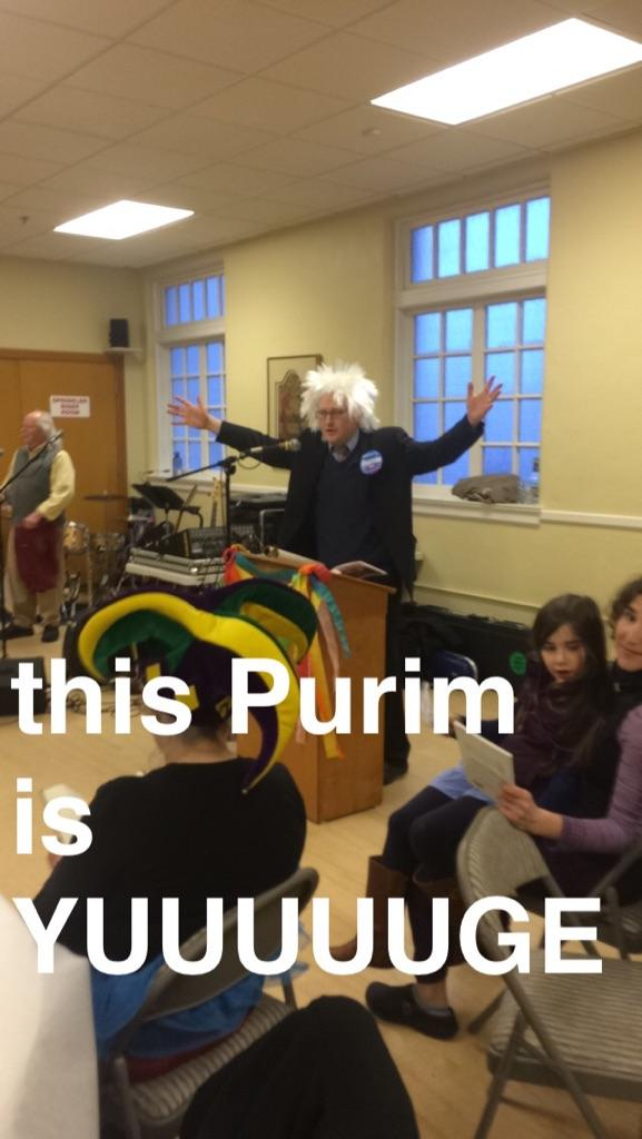 Purim costume